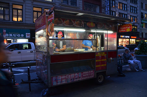 """New York Street Food"" Hot Dog"