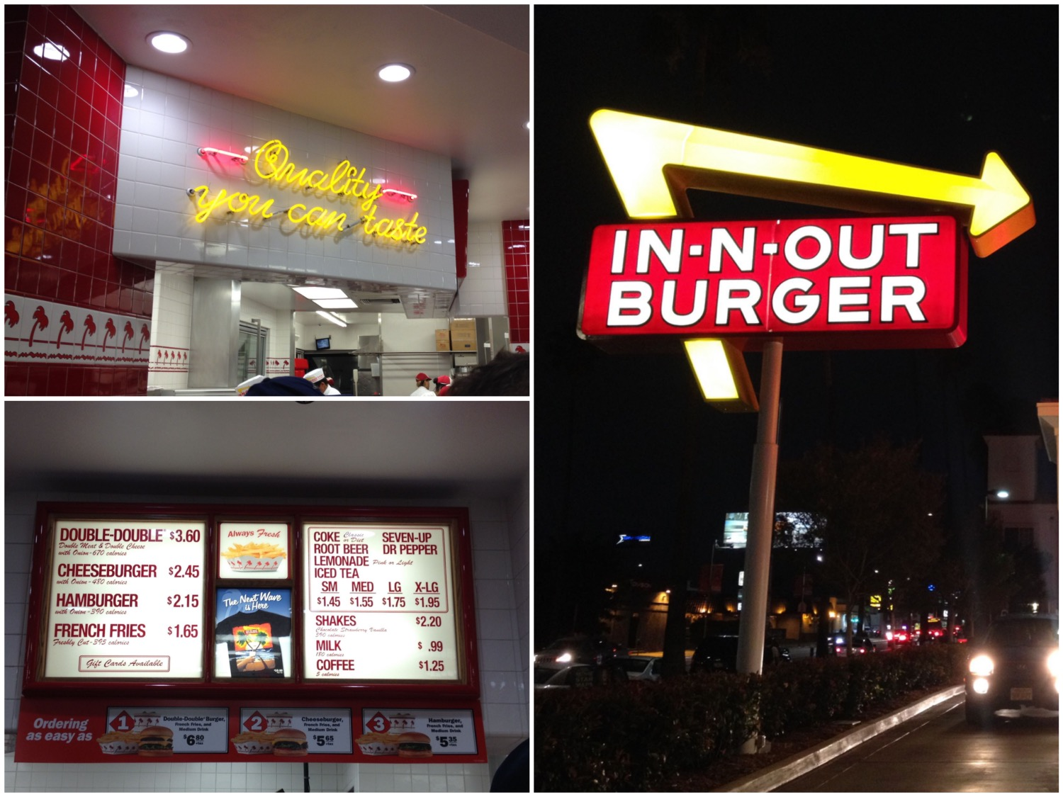 In' n Out Burger Los Angeles