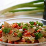 Ensalada de alcachofas // Artischocken-Salat