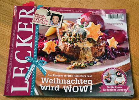 """Rezension: Kochzeitschrift """"Lecker"""""""