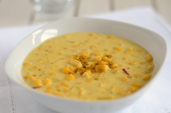 Corn Chowder // Maissuppe
