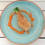 Sesam-Hähnchen mit Paprikacurry