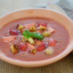 Gaspacho mit Erdbeeren