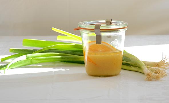 Salatsoßen: Orangen-Dressing
