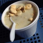 """New York Street Food"" Clam Chowder"
