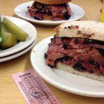 """New York Street Food"" Pastrami-Sandwich"