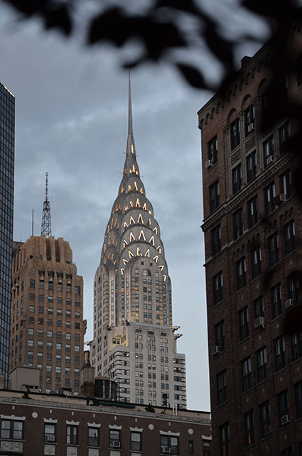 New York Times Chrysler Building