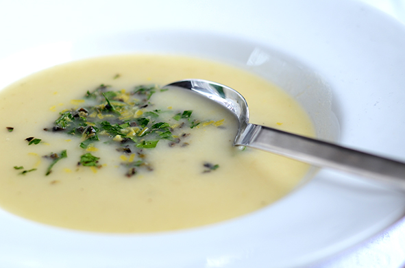 Fenchel-Zitronen-Suppe