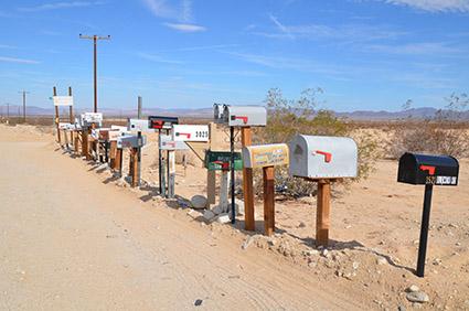 Amboy Letterboxes
