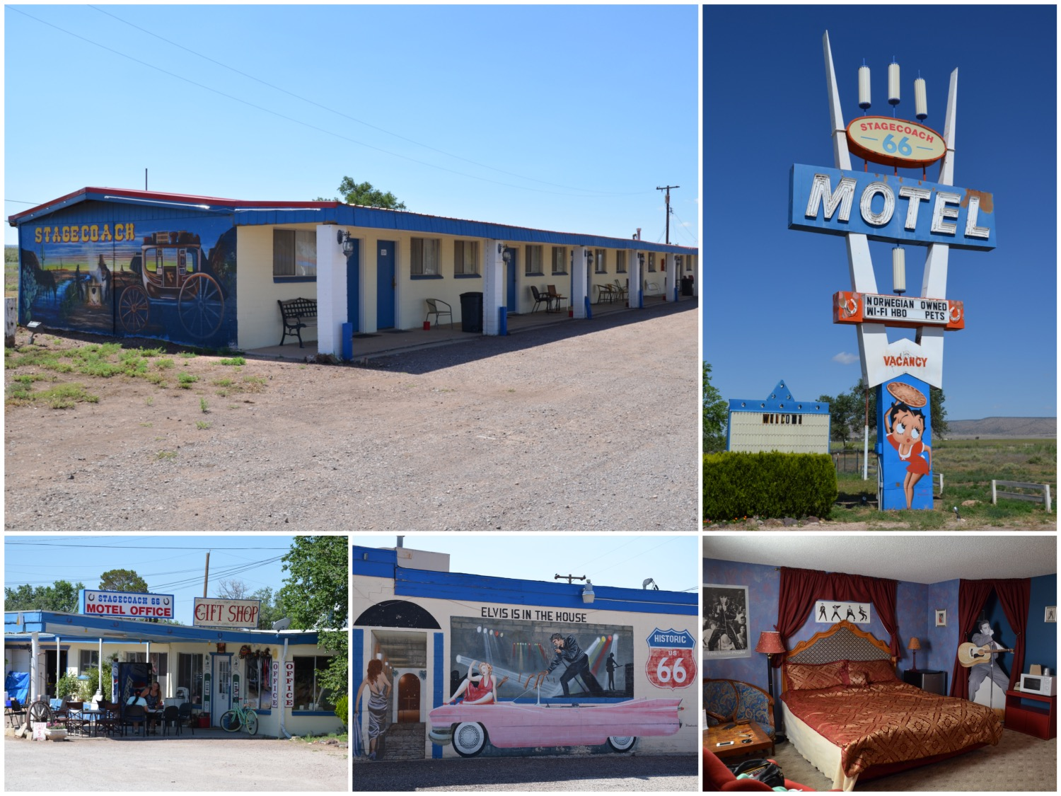 Stage Coach Motel in Seligman, Arizona