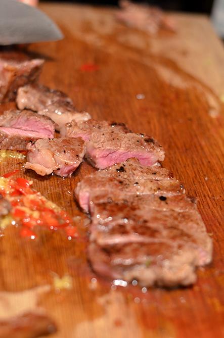 Dan Dan Noodles Rib-Eye-Steak