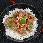 Vietnamesisches Limetten-Sesam-Rindfleisch