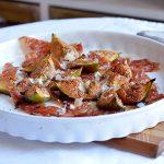 Gebackene Balsamico-Feigen mit krossem Prosciutto