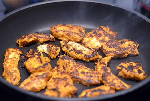 Grilled Indish Chicken