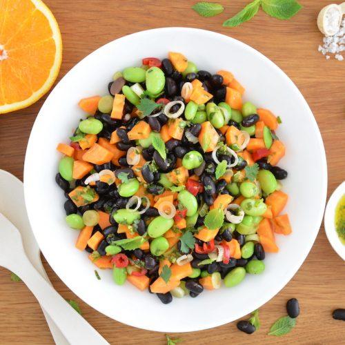 Bohnensalat mit Zitrus-Vinaigrette